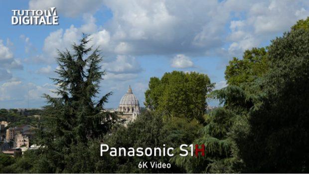 Panasonic Lumix DC-S1H, video test su YouTube