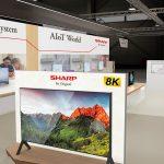 Sharp punta su 8K+5G per il futuro della TV