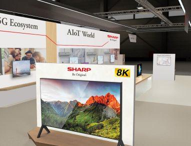 Sharp 8K+5G TV
