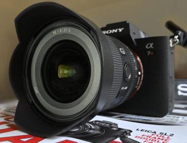 Sony FE 20 F1.8 G + Sony A7RIV