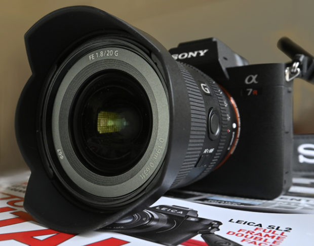 Test completo in anteprima: Sony FE 20mm F1.8 G