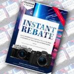 Fujifilm, Instant Rebate Serie X e GFX