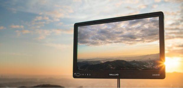 SmallHD 2403HB, monitor Full HD luminoso e portatile