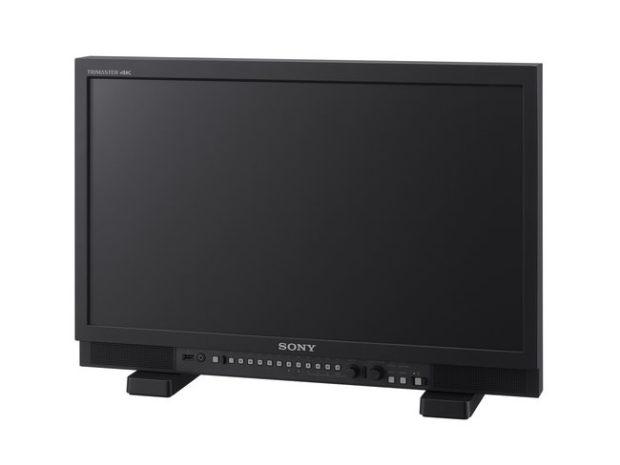Sony Trimaster PVM-X, monitor professionali 4K HDR compatti