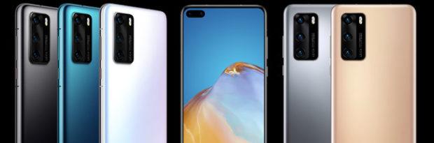 Huawei P40, P40 Pro e P40 Pro+, prezzi e dettagli