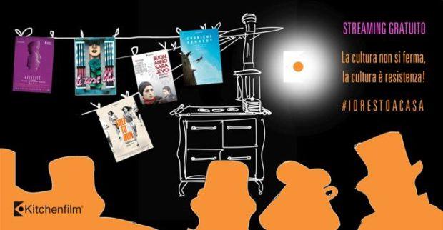 #iorestoacasa: Kitchen Film, il meglio è in streaming