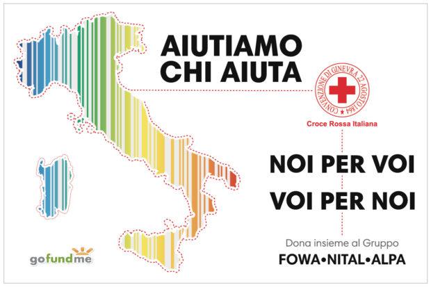 Nital lancia una raccolta fondi per la Croce Rossa Italiana