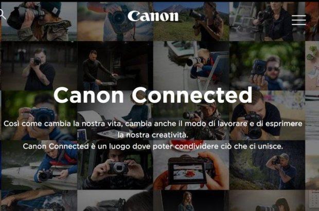 Canon, ecco Canon Connected