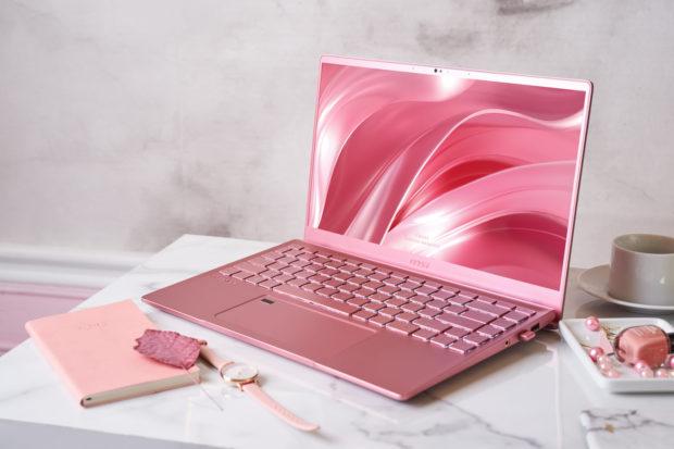 MSI Prestige 14, Think Pink!