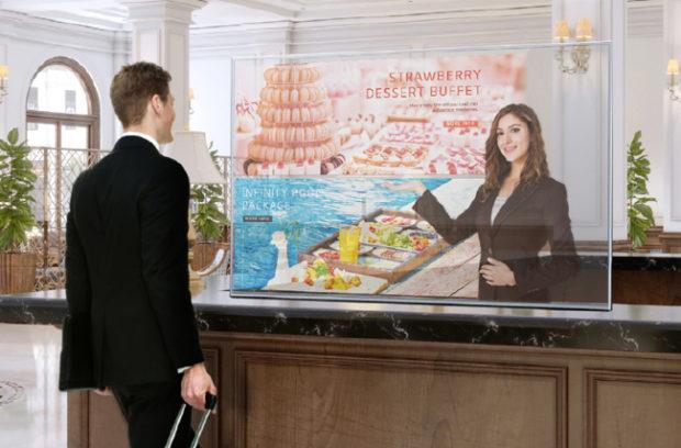 LG OLED Transparent Touch 55EW5TF-A: il display del futuro?