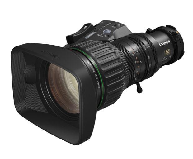 Canon, zoom 18x per broadcast 4 K