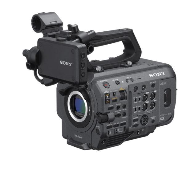 Sony, nuovo firmware per la PXW-FX9
