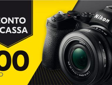Nikon Z 50 sconto 100 euro