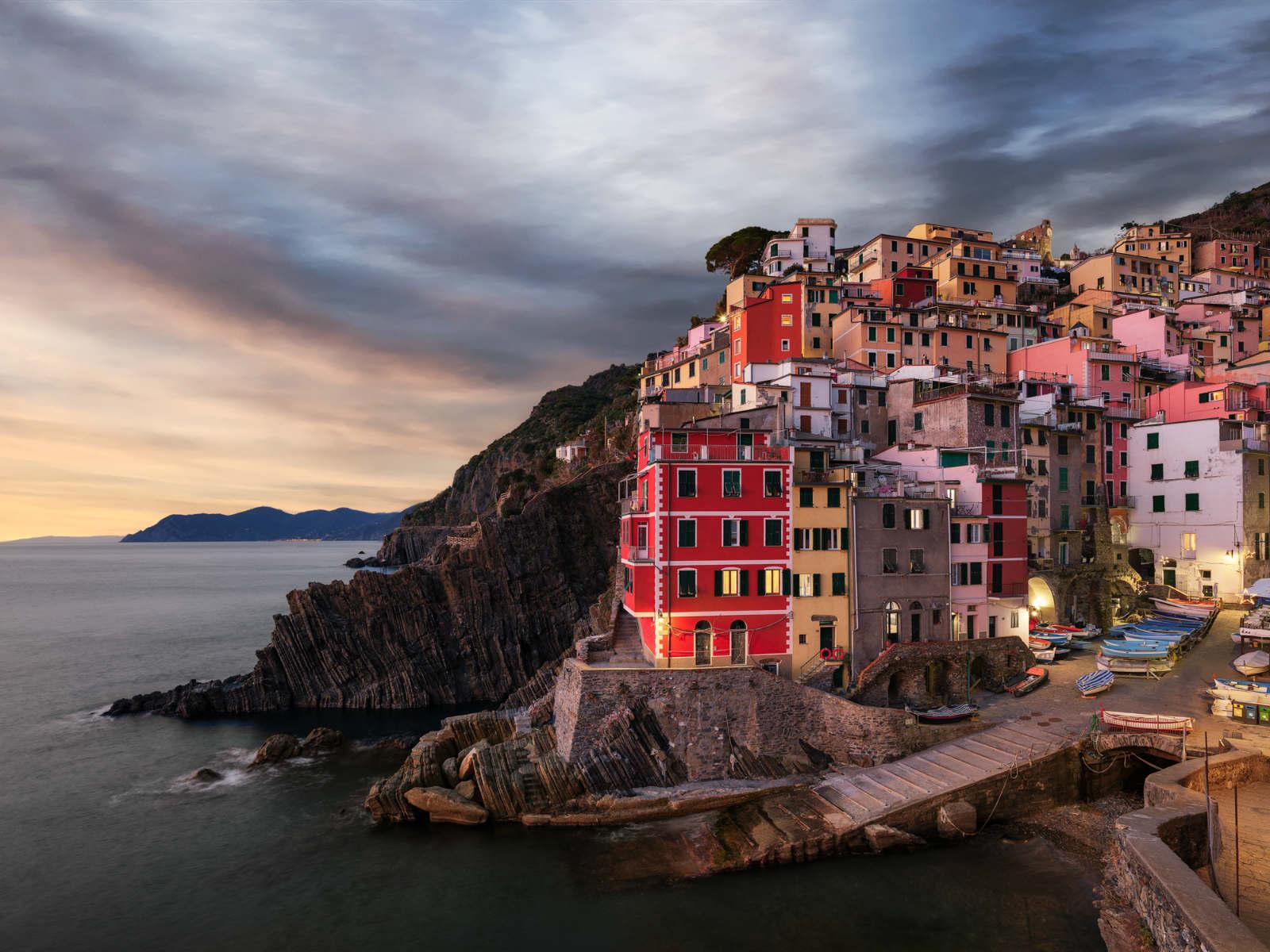©Simone Sbaraglia Tramonto a Riomaggiore Cinque Terre
