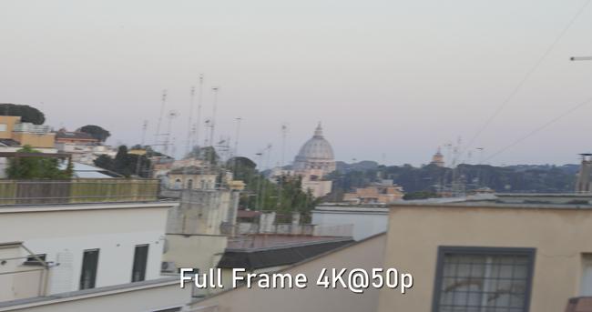 Canon C500MIII rolling shutter Full Frame 4K@50p