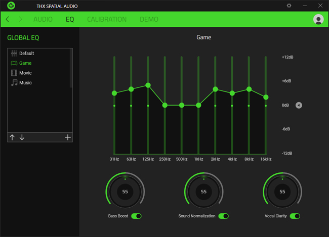 Razer THX Spatial Audio App