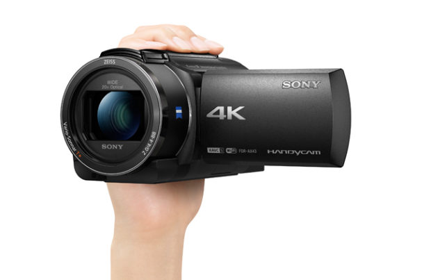 Sony FDR-AX43 4K, no gimbal required