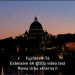Fujifilm X-T4, ecco il video test