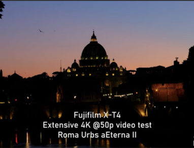 Fujifilm XT-4 video test