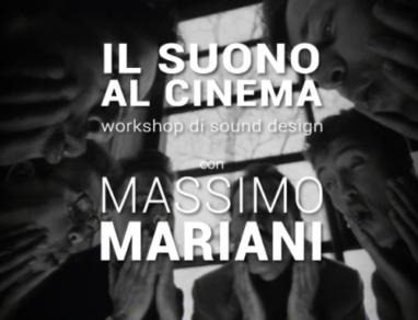 workshop sound design Massimo Mariani