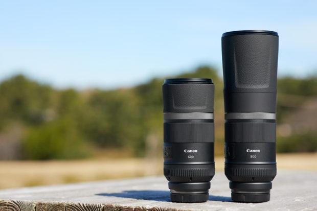Canon, nuove ottiche RF-mount per EOS R