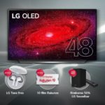 LG, regali per chi compra il TV OLED 4K CX da 48″