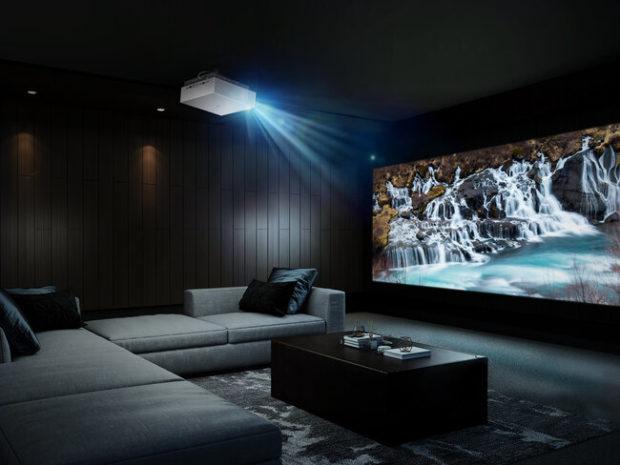 LG CineBeam 4K UHD HU810P, doppio laser per il cinema in casa