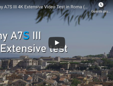 Sony A7S III 4K Extensive Video Test
