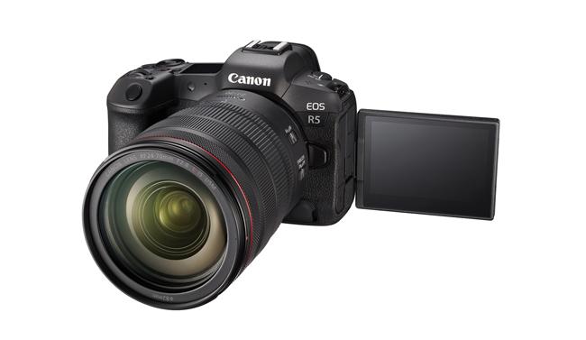 Canon EOS R5 surriscaldamento
