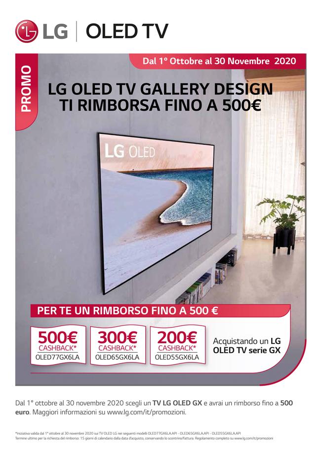 LG OLED TV rimborso