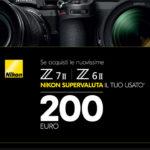 Nikon supervaluta il tuo usato