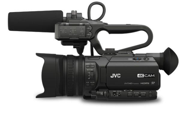 JVC GY-HM250E, nuovi aggiornamenti firmware