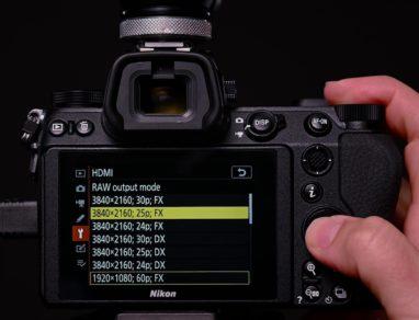 Nikon firmware Z6 Z7