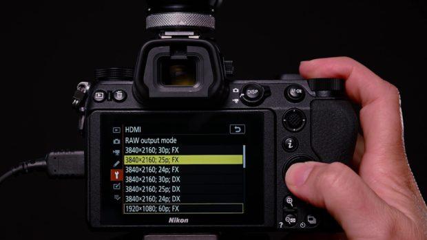 Nikon Z, ecco il nuovo firmware