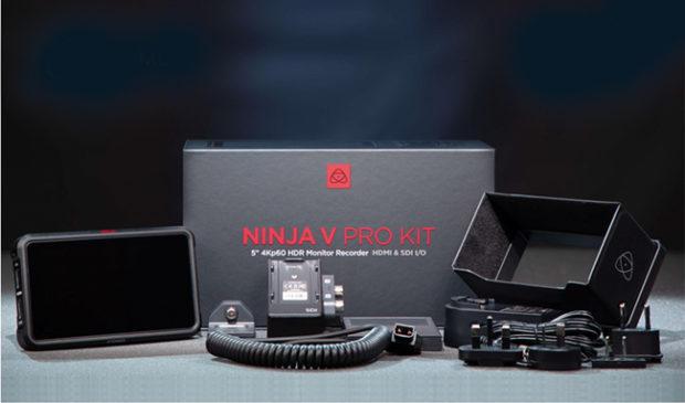 Atomos Ninja V Pro kit, l'accessorio accessoriato