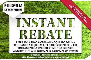 Fujifilm X-T4, X-T3 e X-T30 a prezzo di saldo