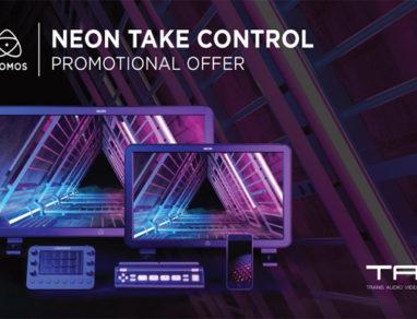 Atomos Neon Take Control