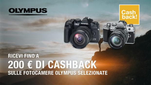 Olympus, parte la promozione