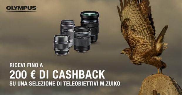 OM Digital Solutions, nuovo cashback Olympus