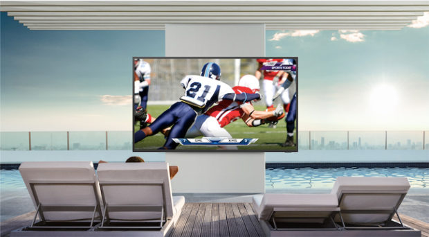 Samsung TV The Terrace, per l'intrattenimento outdoor