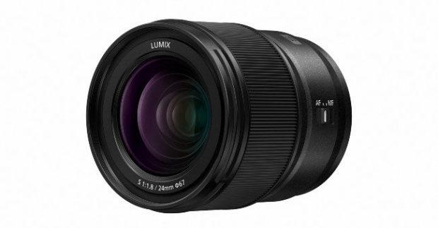 Nuovo obiettivo Panasonic Lumix S 24mm, compatto e leggero
