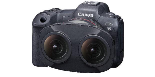 Con il Canon RF 5.2mm L Dual Fisheye si riprende in VR su EOS R